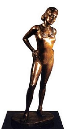Marc Mellon, Alexis in a Swimsuit Ed. 1/9, bronze