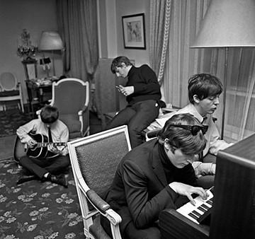 Harry Benson, Beatles Composing, Ed. 9/35 1964, photograph