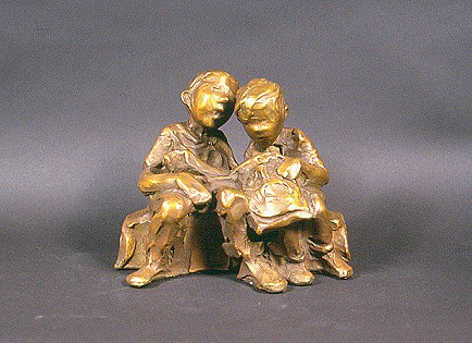 Jane DeDecker, Chip Eaters  Ed. 17/31 2011, bronze