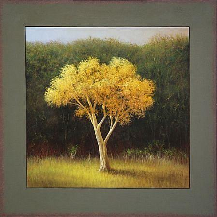 Scott Duce, Autumn Marker .25 2008, oil on panel