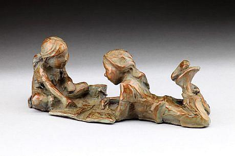 Jane DeDecker, Crayons, Ed. 31 2009, bronze