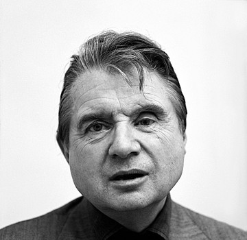 Harry Benson ,   Francis Bacon, Edition of 35  ,  1975     photograph     HB1204112