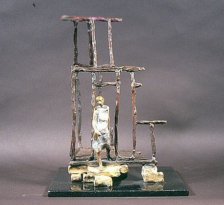 Jane DeDecker ,   From the Ashes, Ed. of 11  ,  2003     bronze ,  10 x 6 x 5 in. (25.4 x 15.2 x 12.7 cm)     JDD7203