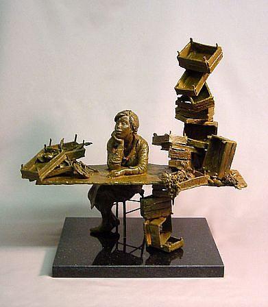 Bruno Lucchesi, Fruit Stand 2006, Ed. 3/6, bronze