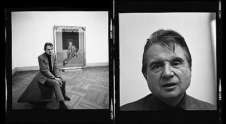 Harry Benson, Francis Bacon Diptych Ed. 7/35 1975, photograph