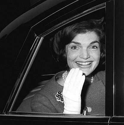 Harry Benson, Jackie Kennedy in Car, London, Edition of 35 1962, photograph