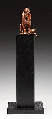 Louise Peterson, Lonely at the Top, Ed. 5/99 2010, bronze