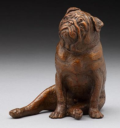 Louise Peterson ,   Multum in Parvo, Ed. 6/50      bronze ,  6 x 6 x 4 in. (15.2 x 15.2 x 10.2 cm)     LP1110017