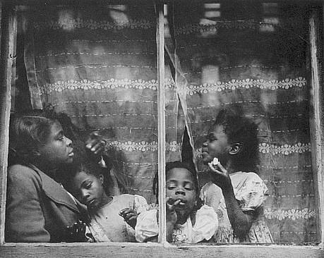 Morris Engel, Rebecca, Harlem 1947, photograph