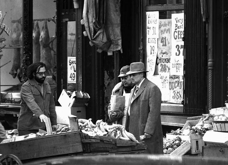 Harry Benson, Godfather - Coppola and Brando on set, Ed. 10/35 1971, photograph