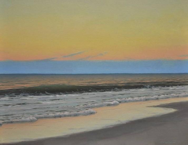 Edward Minoff, Dusk 2011, oil on canvas
