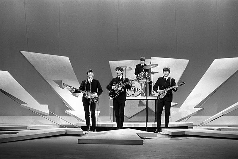 Harry Benson ,   Beatles, Ed Sullivan Show, Edition of 35  ,  1964     photograph ,  17 x 22 in.     HB1204127