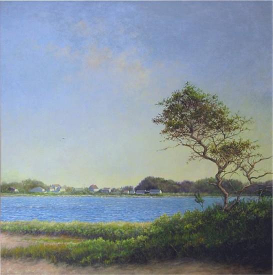 Marla Korr, Morning Light Over the Pond 2011, oil on linen
