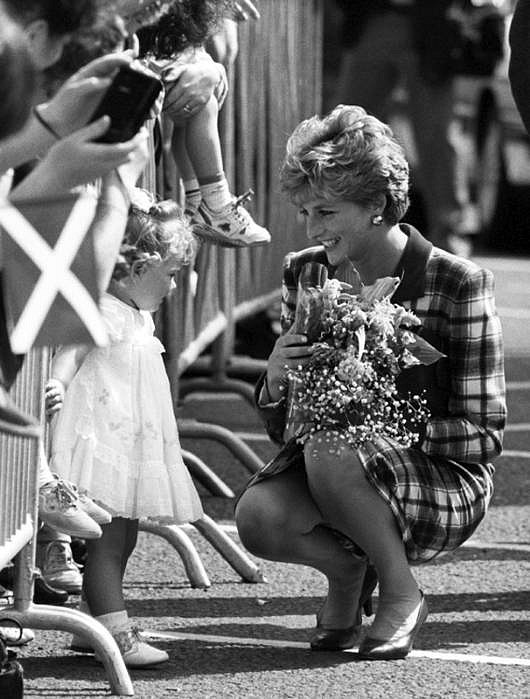 Harry Benson ,   Princess Diana in Glasgow, Edition of 35  ,  1992     photograph     HB120451