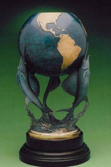 Kent Ullberg, Sailfish World, ed. 12/15 2006, bronze
