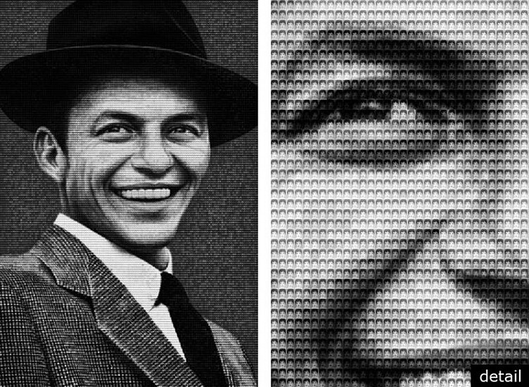 Alex Guofeng Cao, Sinatra vs. Minnelli, Ed. 10 2010, chromogenic print with Dibond plexiglass