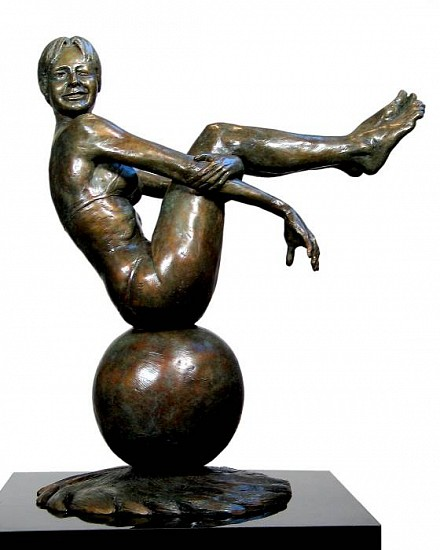 Marc Mellon, Sittin' on Top of the World Ed. 1/9, bronze