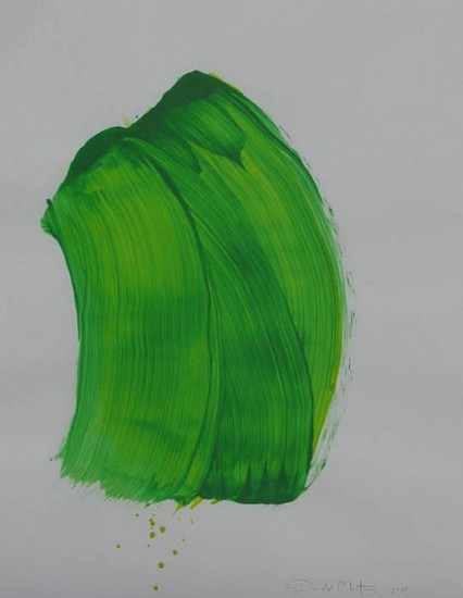 Donald Martiny, Arles 2013, polymers and pigment on paper