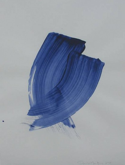 Donald Martiny, Benezet 2013, polymers and pigment on paper