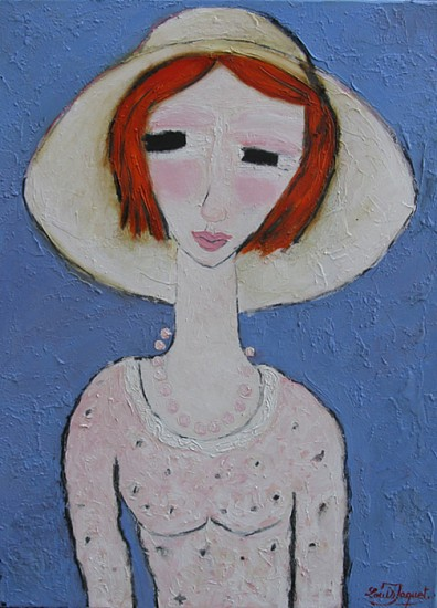 Louis Jaquet, L'irlandese 2013, oil on canvas