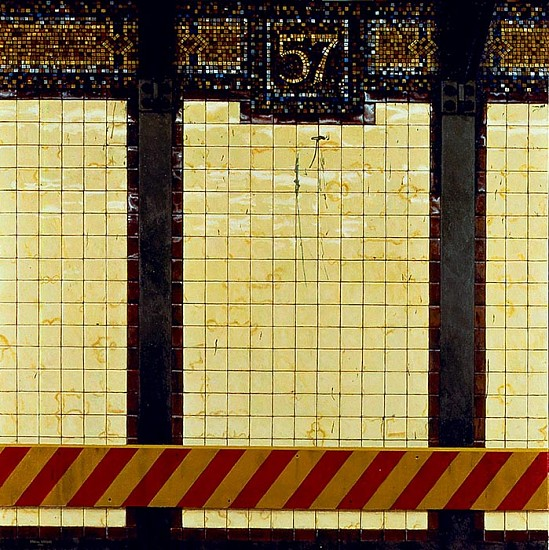 Daniel E. Greene, 57th Street oil on wood