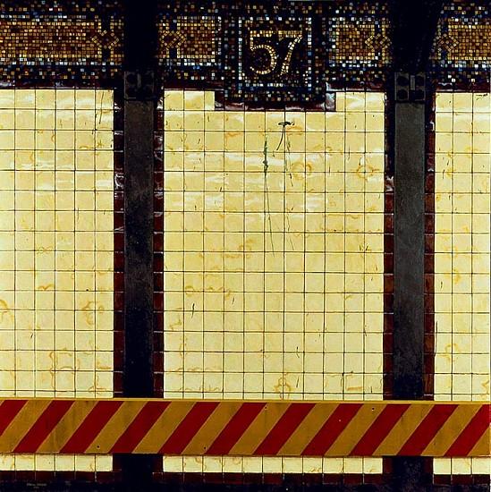 Daniel E. Greene, 57th Street oil on wood