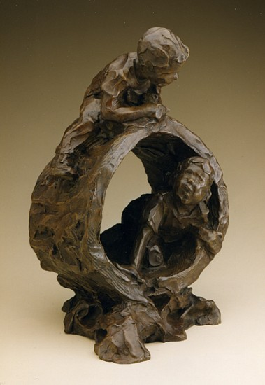 Jane DeDecker, A Day in the Woods 1996, Ed. 22/31, bronze