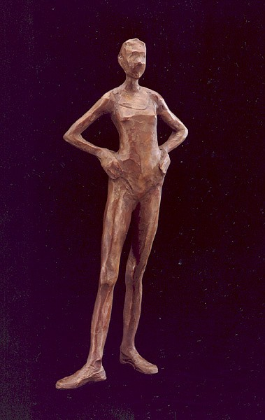 Jane DeDecker ,   Ballerina, Ed. of 31  ,  2003     bronze ,  13 x 5 1/2 x 3 in. (33 x 14 x 7.6 cm)     JDD1704