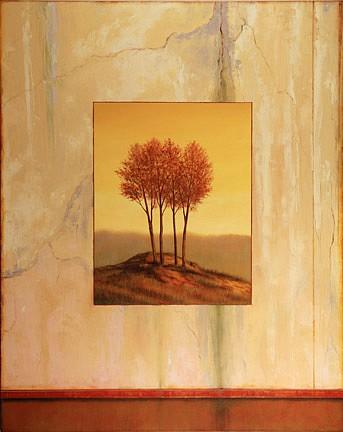 Scott Duce, Sun Autumn 2007, oil on canvas