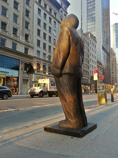 Jim Rennert, Think Big, Edition of 2 2013, bronze and steel