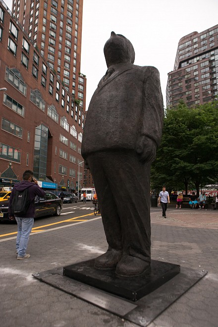 THINK BIG by Jim Rennert - Union Square NYC - Installation View