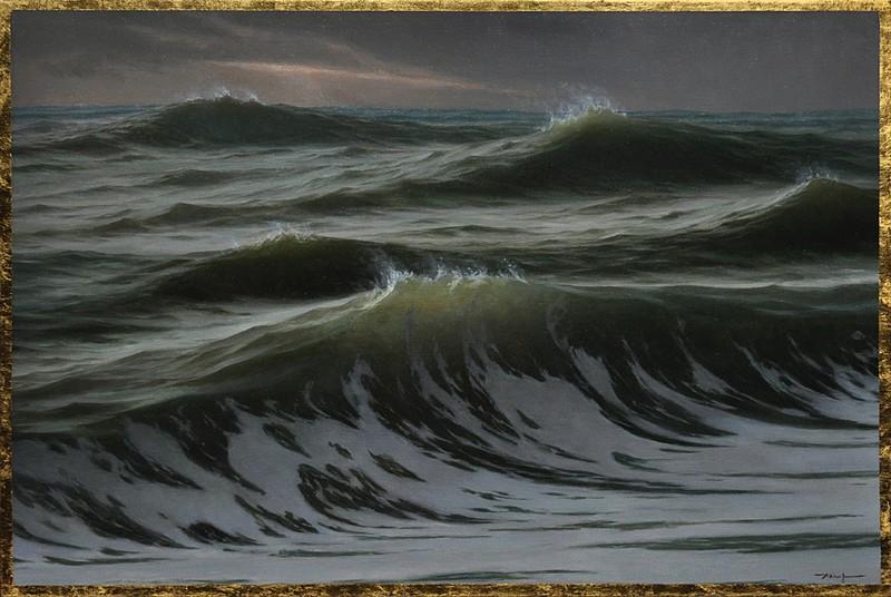 Edward Minoff, Windswept 2014, oil on linen