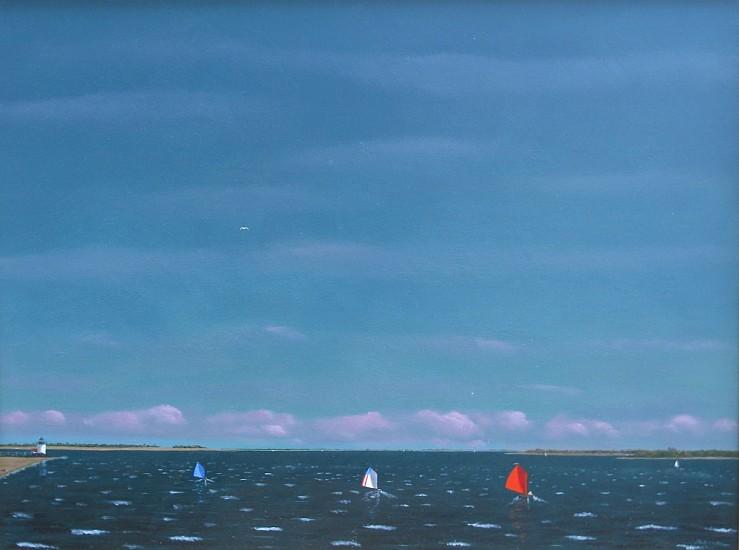 Robert Stark, Beetlecat Patriots 2014, oil on canvas