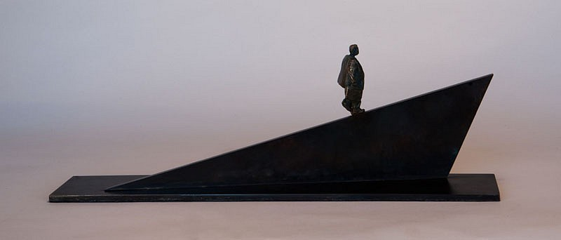 Jim Rennert ,   Insight, Edition of 7  ,  2008     bronze ,  7 x 19 x 4 in. (17.8 x 48.3 x 10.2 cm)