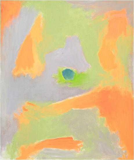 Esteban Vicente, Untitled 1995, oil on canvas
