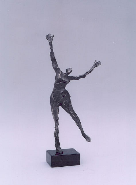 Jane DeDecker ,   Radiance, Ed. of 17  ,  2004     bronze ,  10 x 5 x 2 in. (25.4 x 12.7 x 5.1 cm)     JDD5204