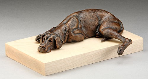 Louise Peterson ,   Watch Dog, Ed. 19/99      bronze ,  6 1/2 x 4 1/2 in. (16.5 x 11.4 cm)     LP1110020