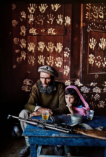 Steve McCurry, Father and Daughter in Nuristan 1992, FujiFlex Crystal Archive Print