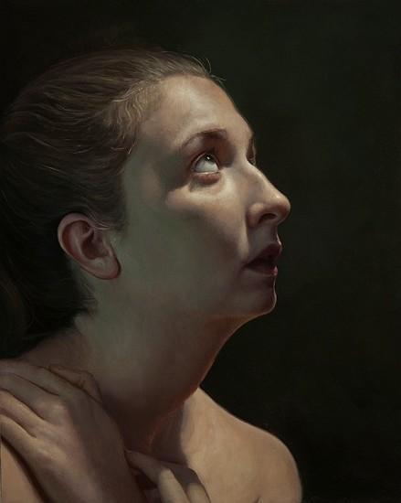 Nancy Depew, Premonition 2015, oil on panel