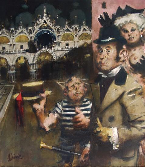 Jack Levine, Volpone at San Marco