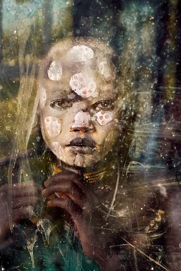 Steve McCurry, Boy from Suri Tribe 2012, FujiFlex Crystal Archive Print