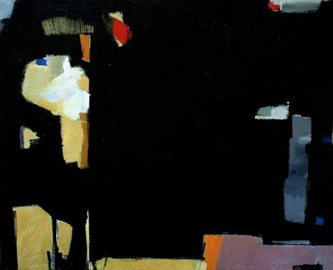 Maureen Chatfield, Black Orpheus 2015, oil on canvas