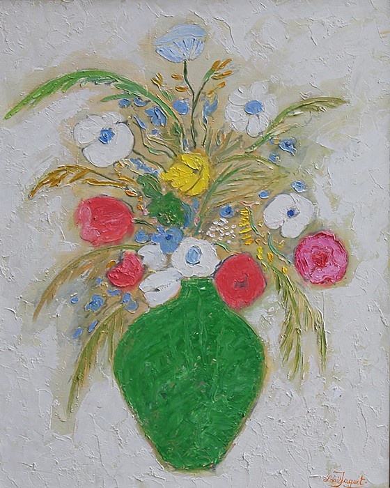 Louis Jaquet ,   Primavera  ,  2012     oil on canvas ,  30 x 24 in. (76.2 x 61 cm)     LJ140305