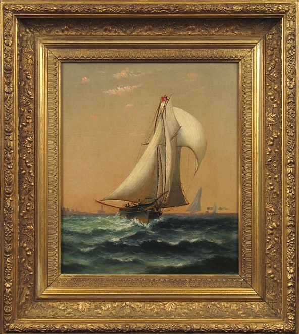Maritime Paintings Exhibition [Greenwich, CT] - Installation View