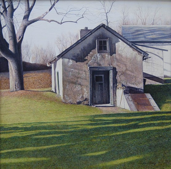 Douglas Wiltraut, Early Spring 2015, Egg Tempera