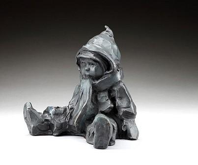 Jane DeDecker, Fresh Air  Ed. 8/31 2009, bronze