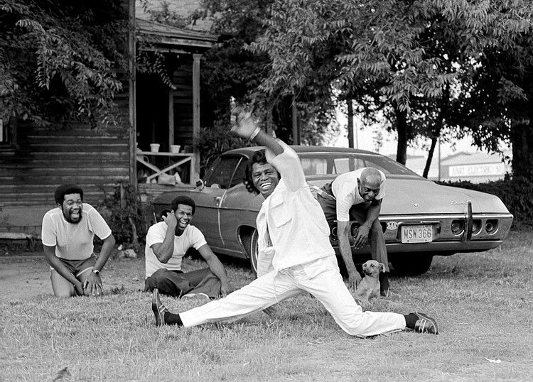 Harry Benson ,   James Brown, Augusta, GA, Edition of 35  ,  1979     archival pigment print ,  17 x 22 in. (43.2 x 55.9 cm)     HB140704