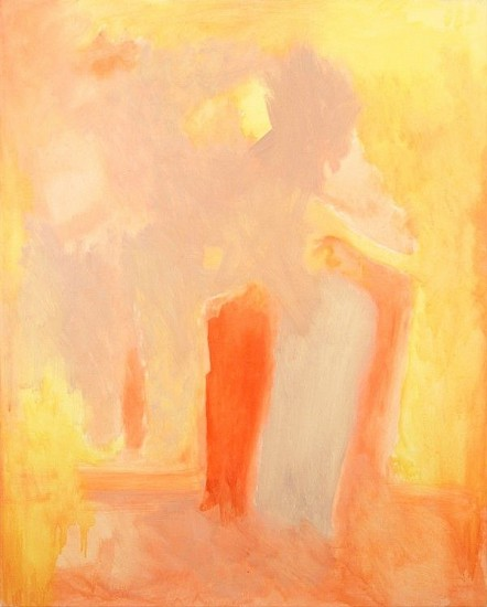 Esteban Vicente, Untitled 1999, oil on canvas