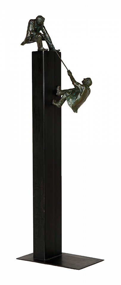Jim Rennert, Teamwork, large, Edition of 9 2008, bronze and steel