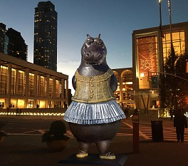 Bjorn Skaarup Press: NYC's Latest Tourist Attraction Is a Hippo Ballerina, February  2, 2017 - Dance Magazine | Madeline Schrock